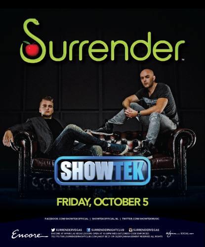 Showtek @ Surrender Nightclub (10-05-2013)