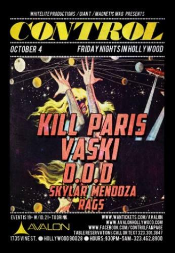 Kill Paris & Vaski @ Avalon Hollywood