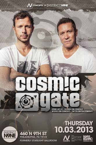 Cosmic Gate @ District N9NE