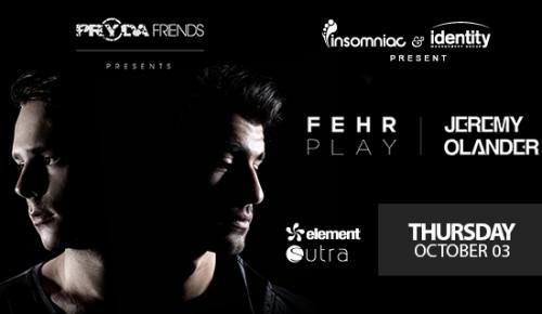 Element with Pryda Friends at Sutra