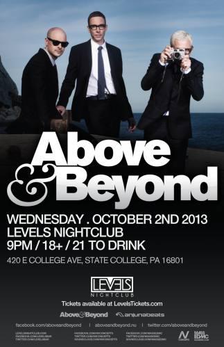 Above & Beyond @ Levels Nightclub