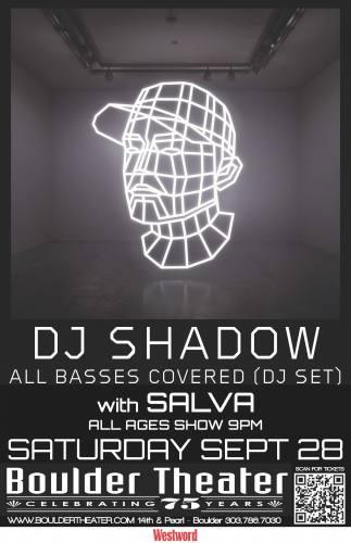 DJ Shadow @ Boulder Theater