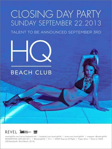 Tiesto @ HQ Beach Club