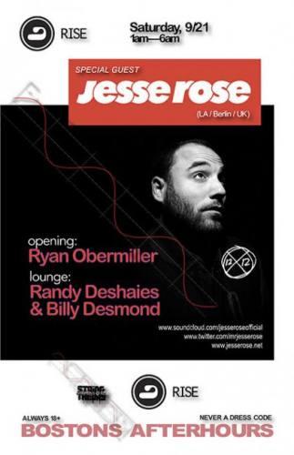Jesse Rose @ RISE