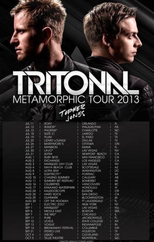 Tritonal @ Stereo Live (09-21-2013)