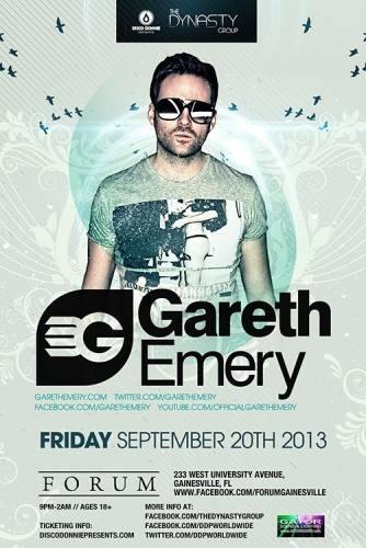 Gareth Emery @ Forum - Gainesville