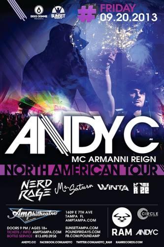 Andy C @ Amphitheatre Event Facility