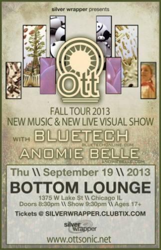 Ott & Bluetech @ Bottom Lounge