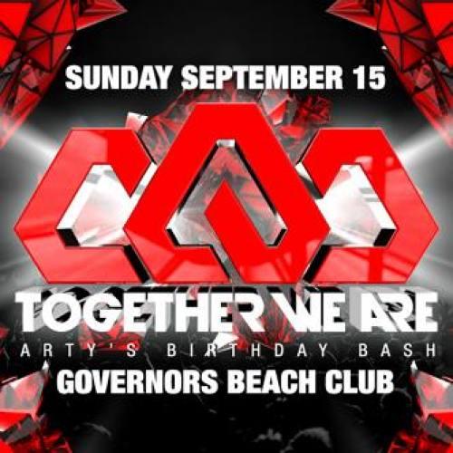 Arty @ Governor's Beach Club