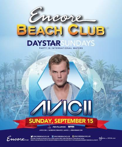 Avicii @ Encore Beach Club (09-15-2013)