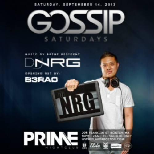 9.14.13 | DJ NRG | PRIME Boston