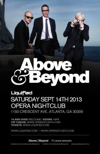 Above & Beyond @ Opera