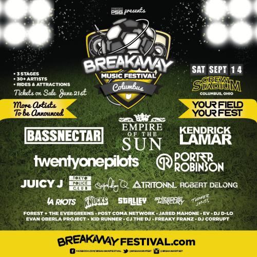 Breakaway Music Festival Columbus