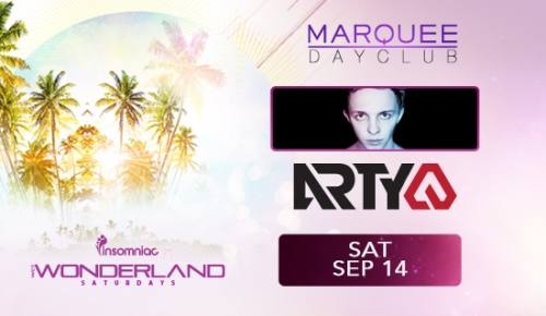 Wet Wonderland with Arty at Marquee Dayclub