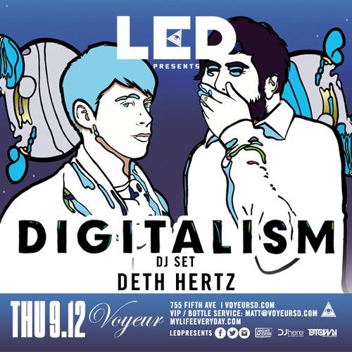 Digitalism (DJ) @ Voyeur