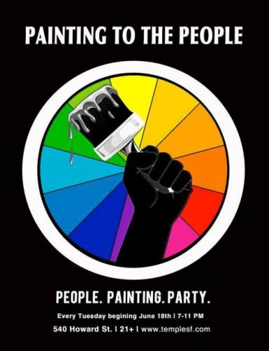 PAINTING TO THE PEOPLE 9/10