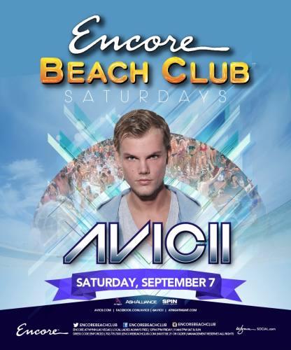 Avicii @ Encore Beach Club (09-07-2013)