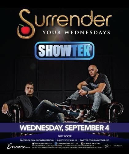 Showtek @ Surrender Nightclub