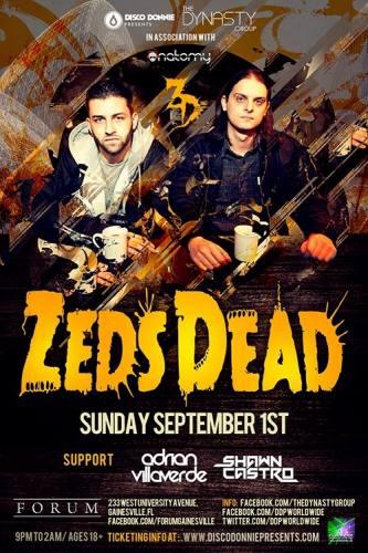 Zeds Dead @ Forum - Gainesville