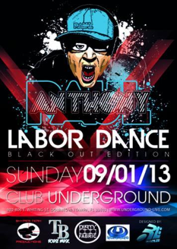 Labor Dance - Paul Anthony Black Out Album Tour
