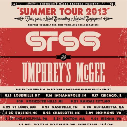 STS9 & Umphrey's McGee @ Time Warner Cable Uptown Amphitheatre Charlotte