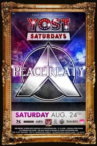 PeaceTreaty @ Yost Theater (08-24-2013)