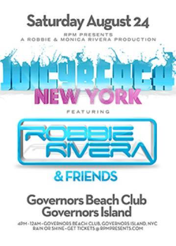 Robbie Rivera @ Governors Beach Club