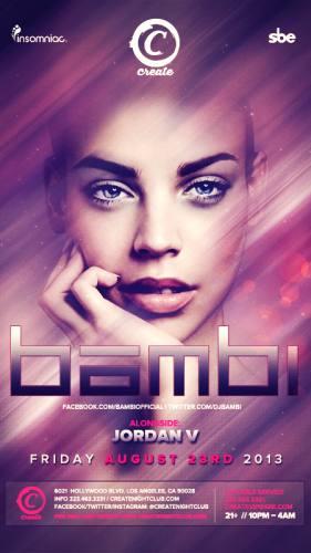 BAMBI at Create Nightclub