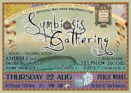 SF Symbiosis Pre Party