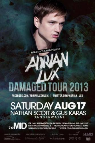 8.17 - ADRIAN LUX - NATHAN SCOTT - MID SATURDAYS - NO COVER WITH RSVP