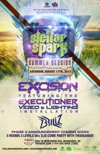 Excision, Figure, Brillz, & more @ The Rave/Eagles Club