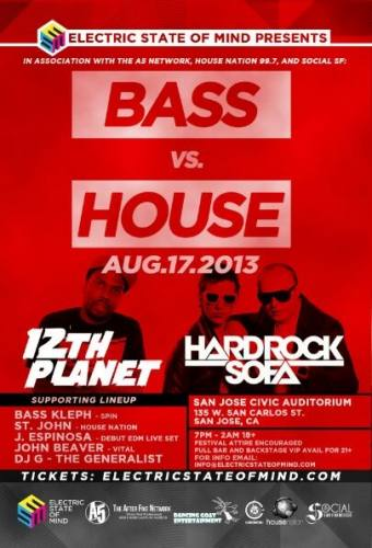 ESM Presents: 12th Planet & Hard Rock Sofa