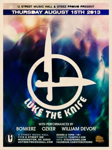 Luke the Knife @ U Street Music Hall
