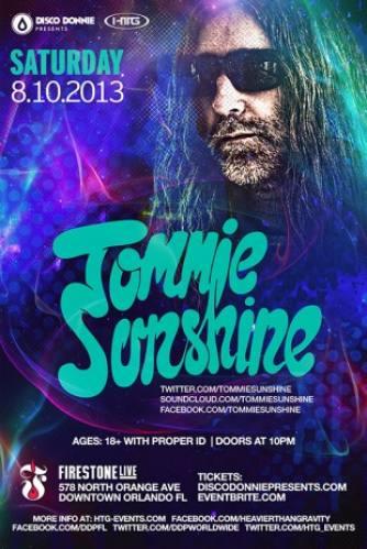 Tommie Sunshine @ Firestone Live