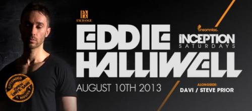 Inception with Eddie Halliwell at Exchange L.A.