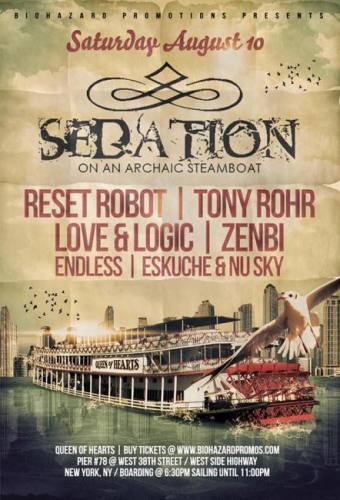 Sedation on an Archaic Steamboat w/ Reset Robot and Tony Rohr
