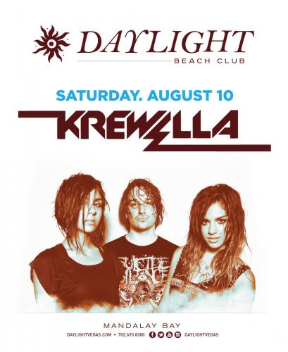 Krewella @ Daylight Beach Club (08-10-2013)