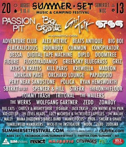 Summer Set Music Festival 2013