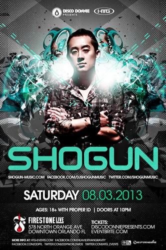 Shogun @ Firestone Live