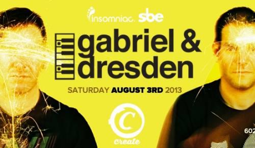 Gabriel & Dresden with Sonny Wharton at Create Nightclub