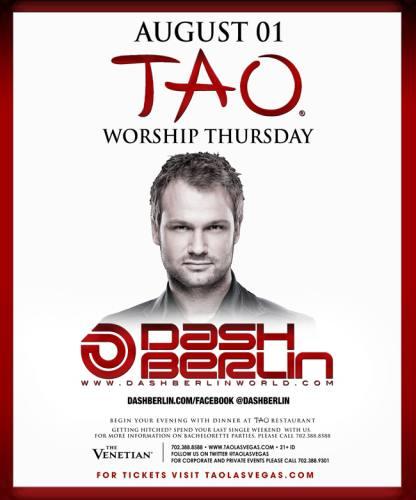 Dash Berlin @ Tao Las Vegas