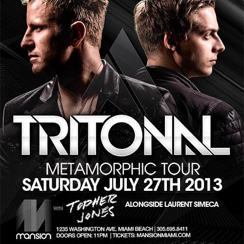 Tritonal @ Mansion (07-27-2013)