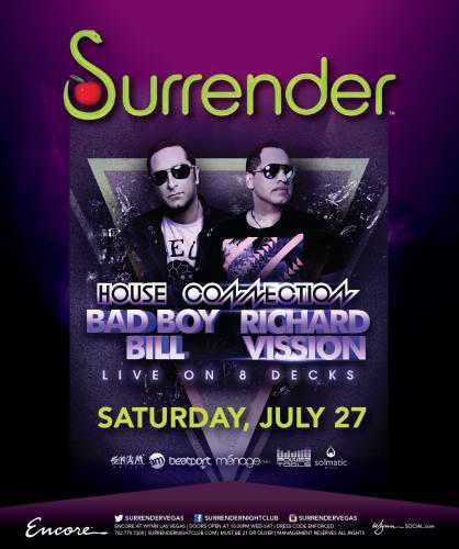 Bad Boy Bill & Richard Vission @ Surrender Nightclub
