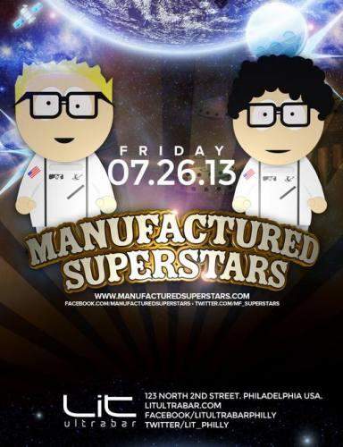 Manufactured Superstars @ Lit Ultrabar