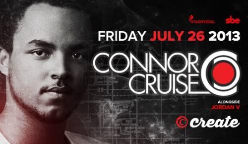 Connor Cruise at Create Nightclub