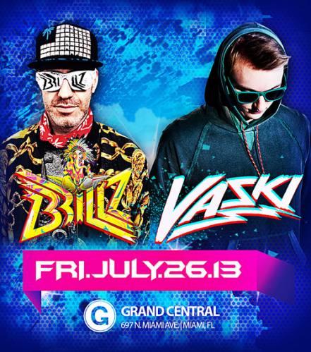 Brillz and Vaski @ Grand Central
