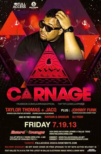 Carnage @ Lizard Lounge