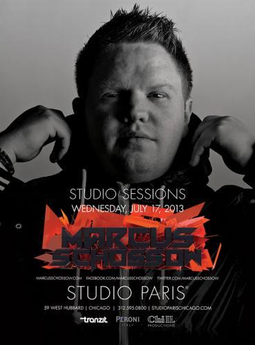Marcus Schossow @ Studio Paris (07-17-2013)