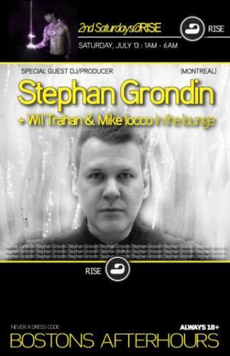 Stephan Grondin @ RISE