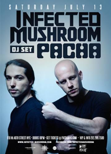 Infected Mushroom (DJ) @ Pacha NYC